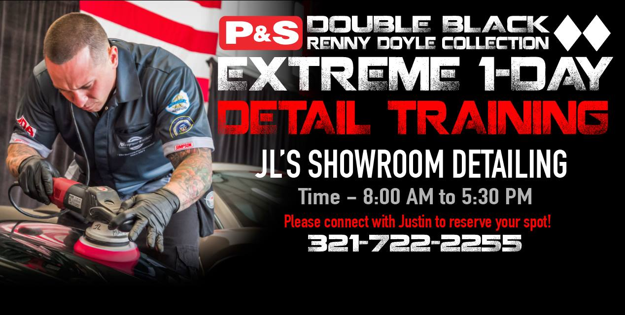 Double Black Training at Showroom Detailing in Melbourne